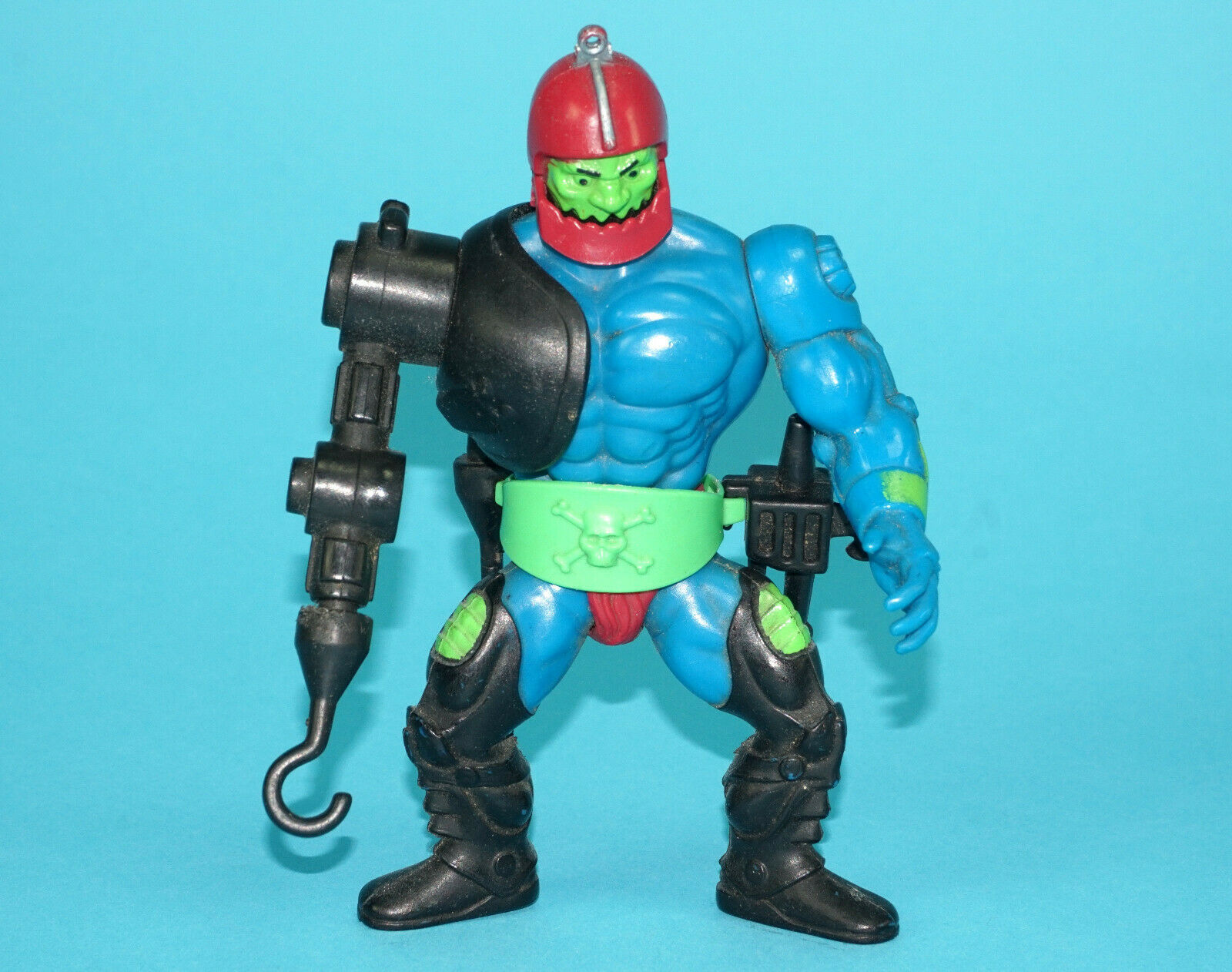 MOTU HE-MAN MASTERS OF THE UNIVERSE TRAP JAW 100% COMPLETE MALAYSIA USA VARIANT