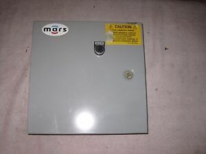 Mars Air Doors S3a2a Motor Control Panel W Switch 208 240v