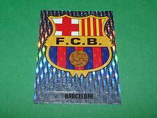 N°409 BADGE FC BARCELONA BARCELONE PANINI FOOT 98 FOOTBALL 1997-1998