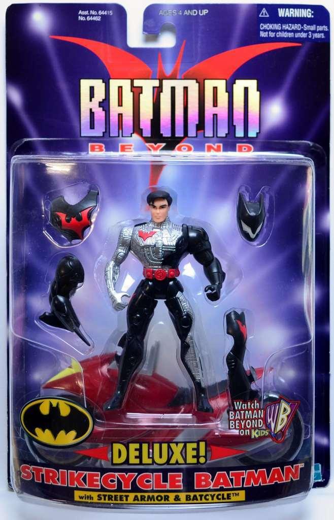 STRIKECYCLE BATMAN - DELUXE action figure - BATMAN BEYOND - Hasbro 2000
