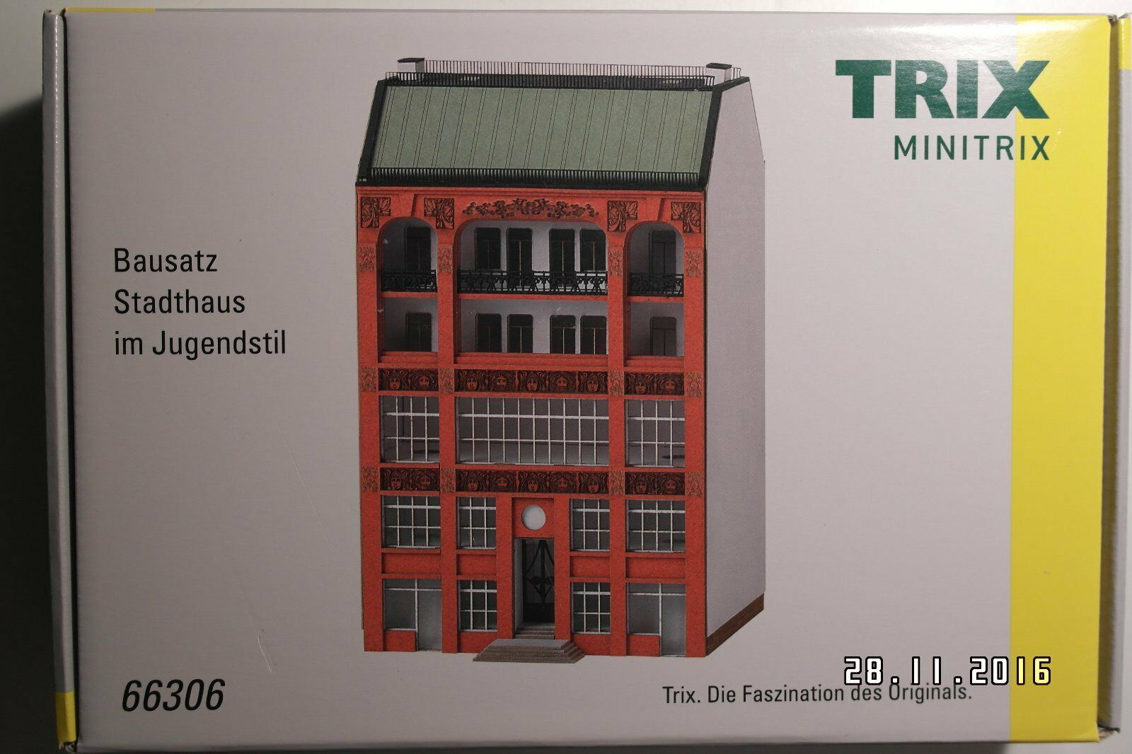 Minitrix 66306   Bausatz Cityhaus im Jugendstil, NEU   OVP