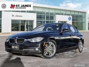 2016 BMW 3 Series 320i xDrive, One Owner, Heated Steering Wheel and