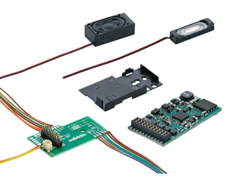 marklin 60976 suono Decoder msd3 21 PIN con con con audio DIESEL h0 5e9218