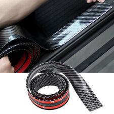 2x40 Car Carbon Fiber Rubber Edge Guard Strip Door Sill Protector Accessories Fits Suzuki Equator