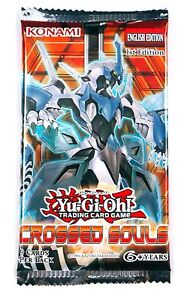 Konami Yu-Gi-Oh! TCG, Shonen Jump Crossed Souls Booster Pack, New and Sealed