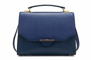 REVELRY-VIX-TRAPEZE-leather-shoulder-bag-REGAL-BLUE