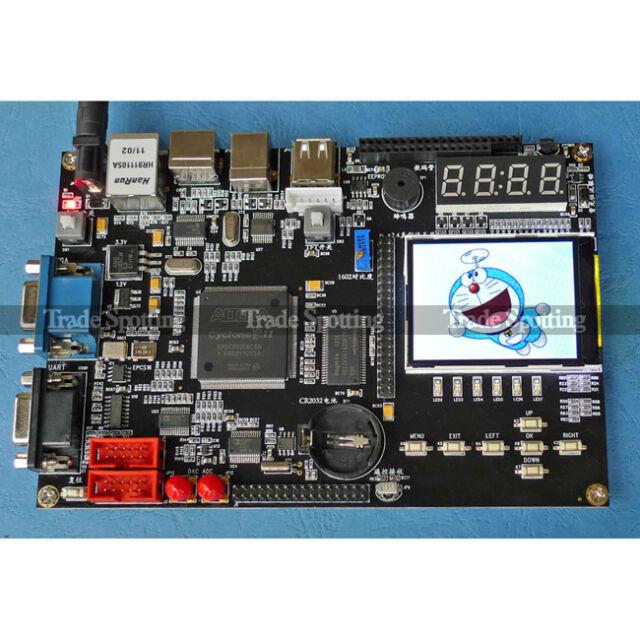 EP2C8Q208C8N Development Board kit FPGA/CPLD Altera Cyclone+NIOS II with 2.4 LCD