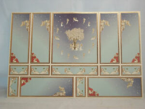 World-amp-Model-Relief-34801-Wallpaper-Panels-dollhouse-1p-1-12-scale-gold-leaf