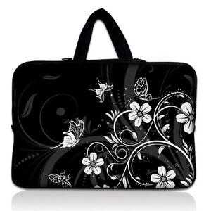 Black-16-Inch-17-034-17-3-034-Neoprene-Laptop-Netbook-Sleeve-Bag-Case-Cover-Handle