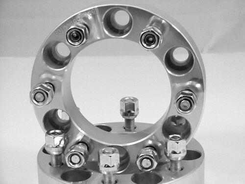 4 Pc GMC SIERRA 1500 6 LUG WHEEL SPACER ADAPTER 2.00 INCH # 6550E1415