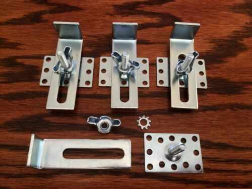 Epoxy Undermount Sink Clips Fasteners w// Installation Instructions Granite