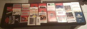 Lot-of-33-instruction-booklet-Atari-Activision