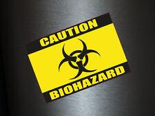 1 x Aufkleber Caution Biohazard Vorsicht Gift Sticker Shocker Tuning Auto Fun