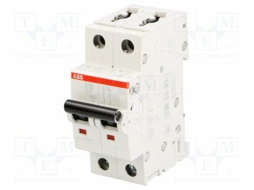 Montaje 6kA 16A-postes no:2 Interruptor de circuito S202-C16-400VAC-Inom DIN