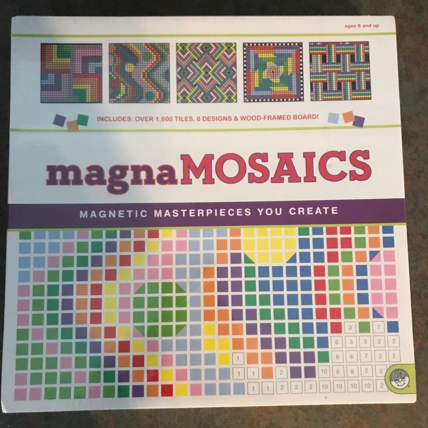 MindWare Mosaic Magna Patterns Magnetic Masterpieces You Create