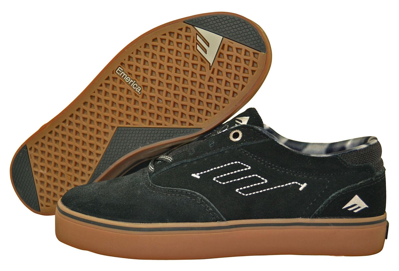 Emerica the Provost skater zapatos/cortos Black/Gum tamaños de selección