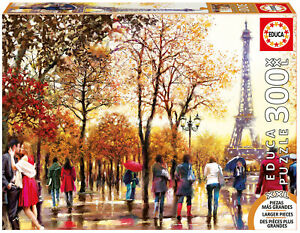 Puzzle-Educa-16745-Torre-Eiffel-300-piezas-XXL-Tower-Tour-Pintura