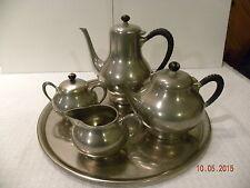 Metawa Holland Pewter Tea and Coffee Set