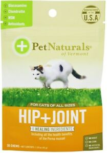 Hip + Joint for Cats by Pet Naturals of Vermont, 30 chews 1 pack