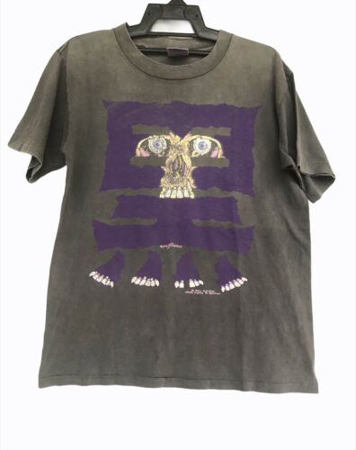 Vtg Rare Early 90s Pushead Brockum T Shirt (disstr