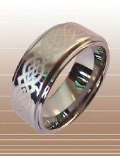 Ring hoge kwaliteit, tungsten carbide laser logo Ø 19 mm h = 9 mm