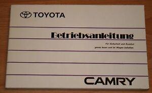 Toyota Camry Betriebsanleitung Bedienungsanleitung 1994 - Essen, Deutschland - Toyota Camry Betriebsanleitung Bedienungsanleitung 1994 - Essen, Deutschland