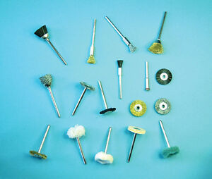 Expo-16600-Mini-Outil-17-Piece-Brosse-amp-Polir-Set-3mm-Arbre-Neuf-en-Boite