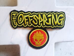 Offspring-Gaming-Skull-Death-Pop-Rock-Music-Embroidered-Iron-On-Patches-Patch