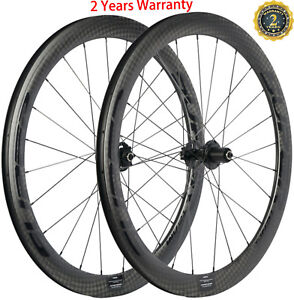 Disc-Brake-Carbon-Wheels-700C-Carbon-Wheelset-38-50-60-88mm-Center-Lock-6-Bolt