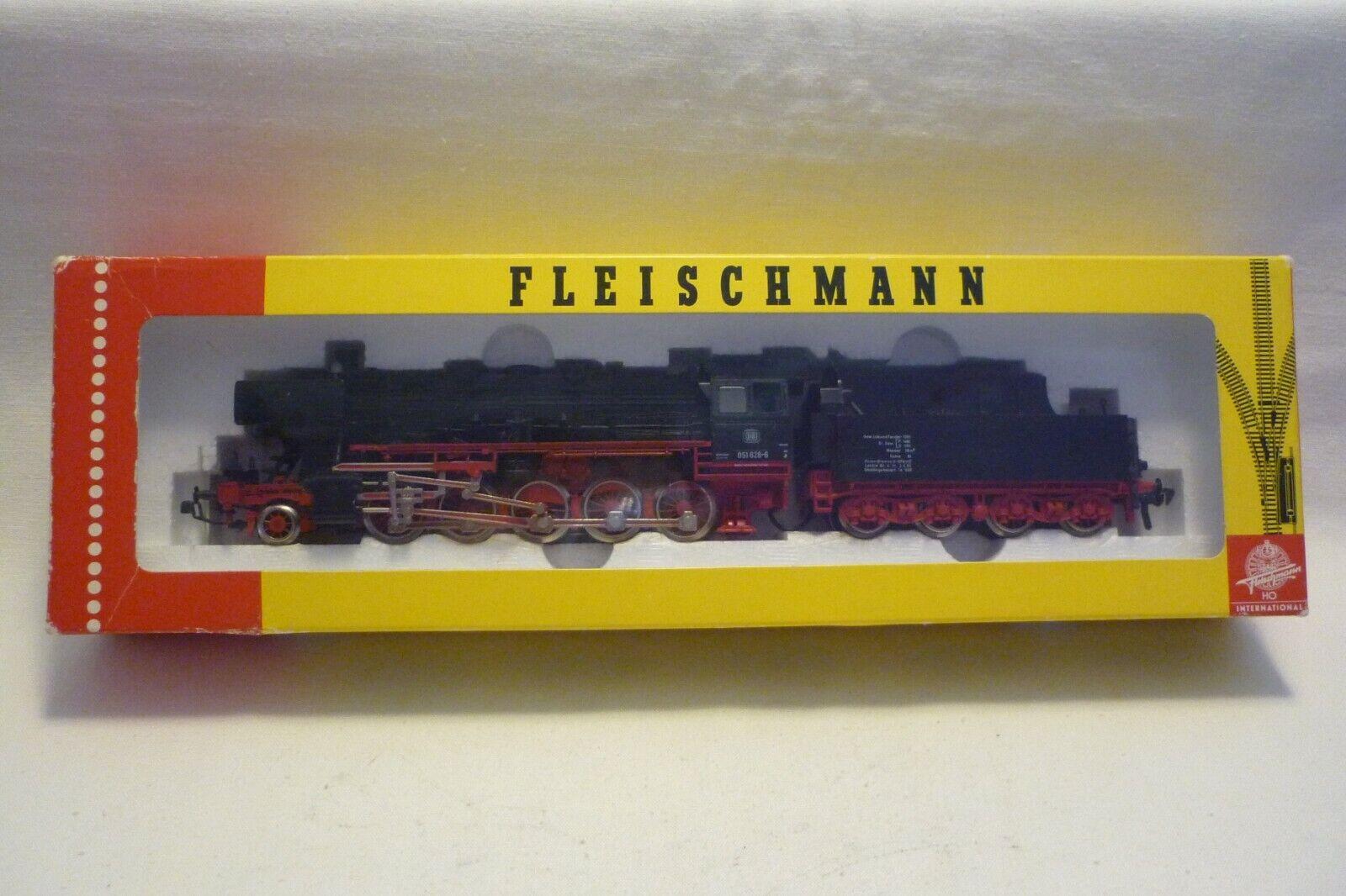 Fleischmann-spur h0 - 4177 máquina de vapor con tender-DB 051 628-6 - embalaje original (10.ei-72)