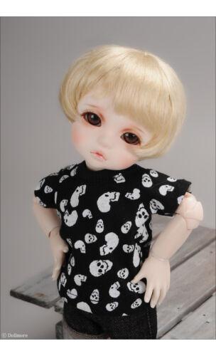 Black Aston Skull T 1//6 BJD YOSD USD Dear Doll Size Dollmore