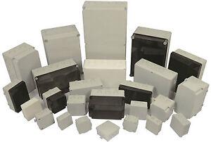 Kunststoffgehaeuse-Schaltschrank-Leergehaeuse-Verteilerdose-ohne-Vorpraegungen