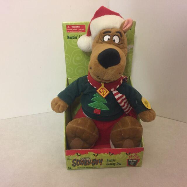 Scooby Doo Christmas.2000 Gemmy Plush Animated Rockin Scooby Doo Christmas Carols