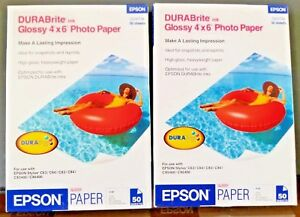 100-4x6-Epson-DURABrite-Glossy-Photo-Paper-PAPER-in-2-50-Packs-GLOSS-16380
