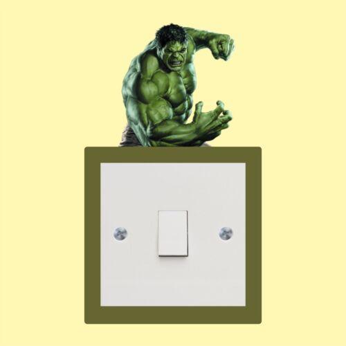 Hulk light switch sticker Wall Art Decal Stickers Quality vinyl New