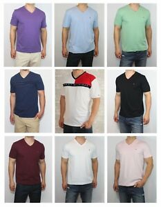 New-Tommy-Hilfiger-Mens-Classic-Fit-V-Neck-Tee-Shirt-T-Shirt