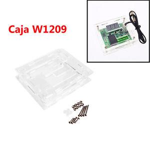 Caja-transparente-para-W1209-Termostato-DC-12V-Controlador-de-Temperatura-M0107