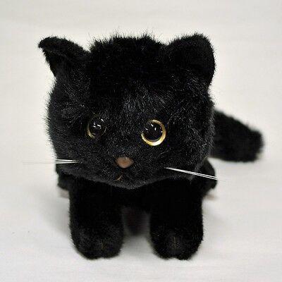 Relaxing Cat Plush (Black) cute & realistic