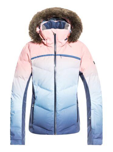 ROXY Skijacke Winterjacke Jacke Daunenjacke Snowboardjacke Snowstorm blau rose