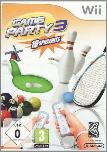 Nintendo Wii juego - Game Party 3 en el embalaje usado