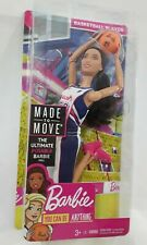 Barbie Basketball Player - Made to Move Doll Mattel 2018 Dvf68