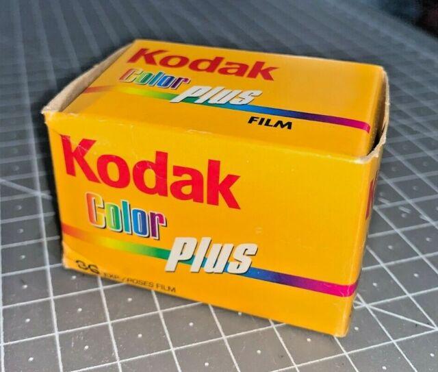 A roll of Kodak ColorPlus 200asa 35mm Film, 36 exp, boxed, expiry date 07/2009
