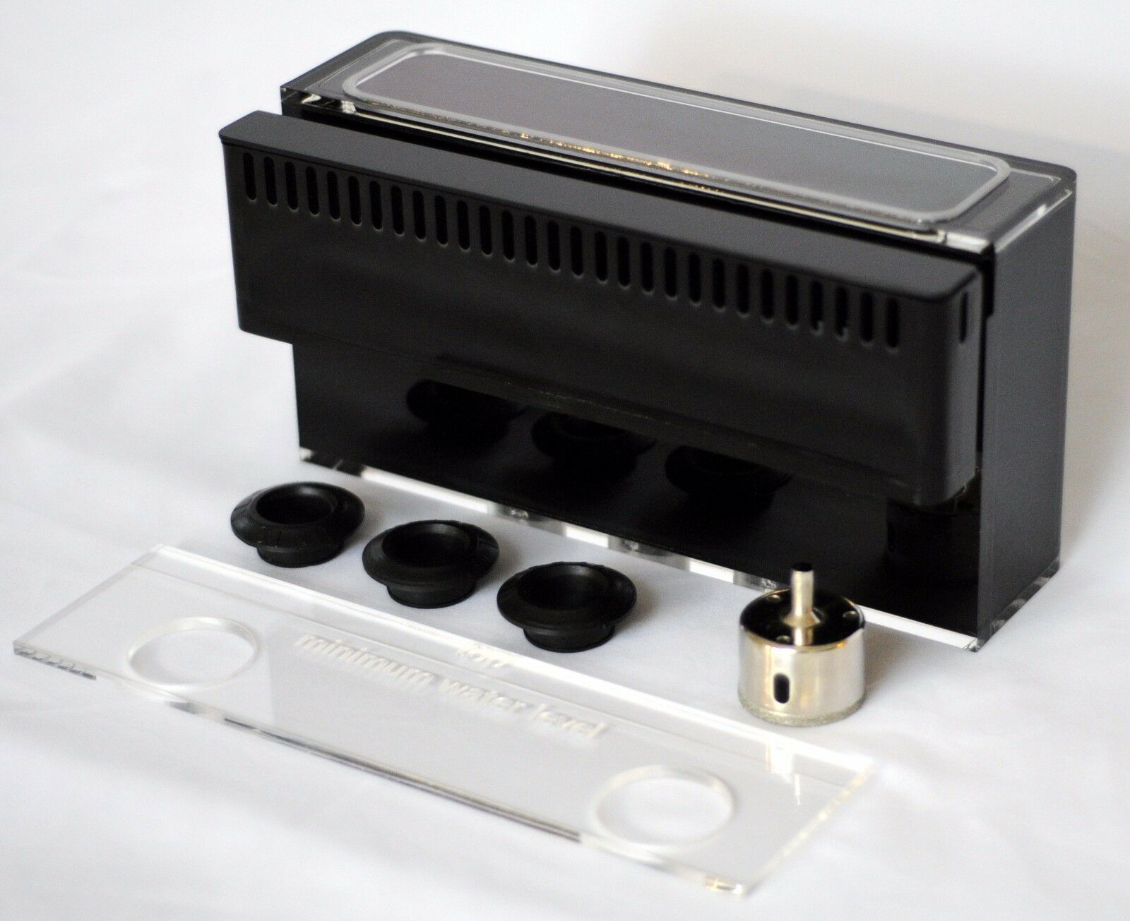 MODULAR MARINE 800 gph LOW PROFILE Overflow Box with REMOVABLE WEIR