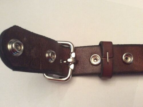 """sizes 30-50  Jeans Amish Made Men/'s Leather Belt-1 1//2/"""" Tool or Holster-USA"""