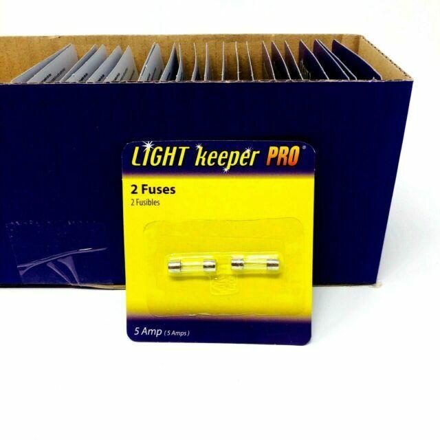 12 Fuses 5 A Amp 125 V volts C7 /& C9 Size Christmas Tree Mini String Lights FUSE