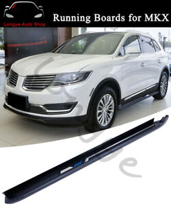 Running Boards Side Step Nerf Bars fits for Lincoln MKX 2015-2019