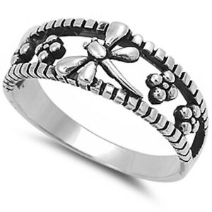 About Solid Dragonfly Fashion  Sterling Silver Ring Sizes
