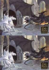 Lord-of-Rings-Masterpieces-Series-One-Promo-Card-Set-2-Cards