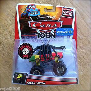 Disney Pixar Cars Toon Rasta Carian Diecast Monster Truck Mater