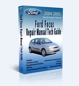 2004 2005 zx4 zx5 s ford focus full service repair manual plus cd rh ebay com 2014 ford focus repair manual free 2004 ford focus repair manual download
